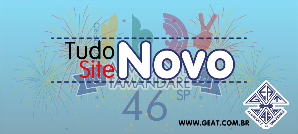 O site do GEAT está de cara nova!